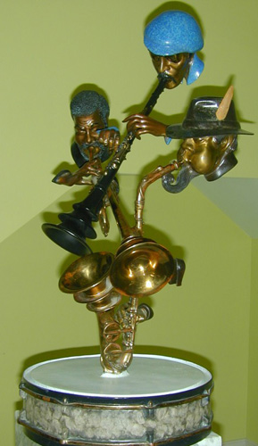 Show Time Bronze Sculpture 1991 33 in
