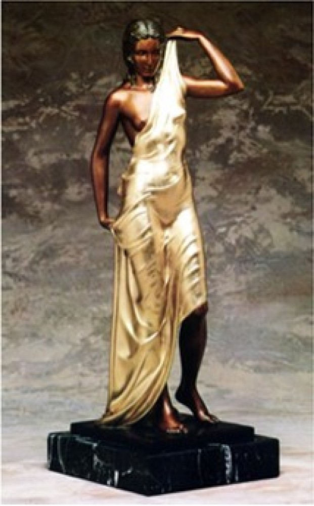 Aphrodite Bronze Sculpture 1990