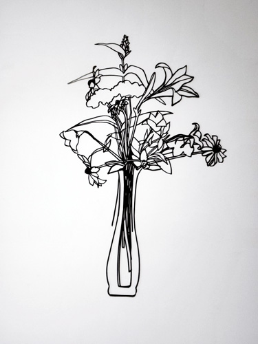 Wildflower Bouquet 1987 by Tom Wesselmann