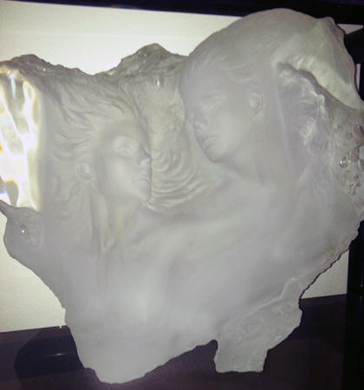 Dream Fragment III Acrylic Sculpture 1989