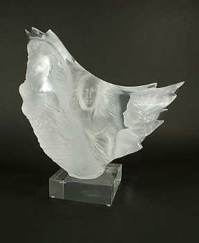 Graces Acrylic Sculpture 1988