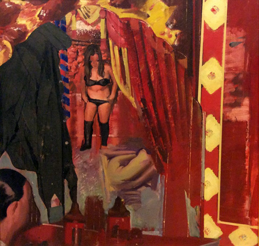 Untitled Painting 1967 by Jerome Witkin