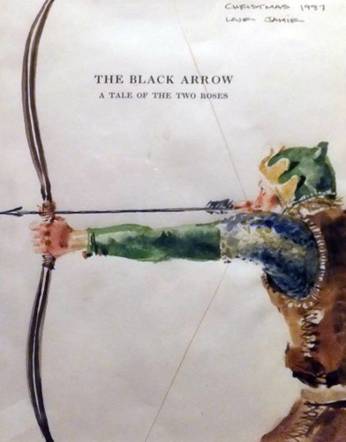 Black Arrow Watercolor 1987 HS 14x10