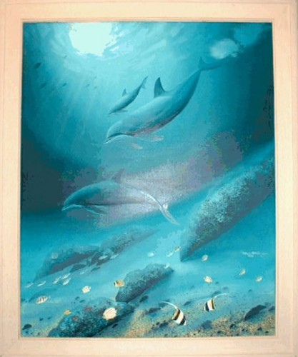 Dolphin Reef  1988 60x48
