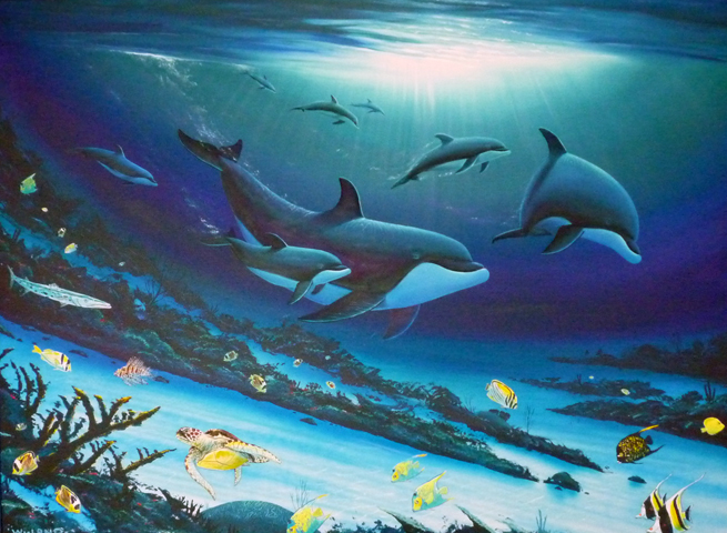 What Is The Art Of Painting Aquatic Life