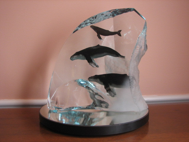 Humpback Tribe  Sculpture AP 2002 13 in