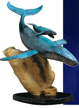 Innocent Age Bronze Sculpture AP 1993 30 in