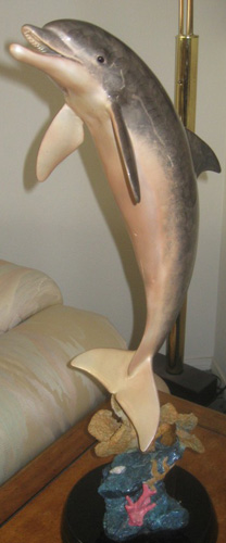 Dolphin Dream Bronze Sculpture Life Size 2000 30 in