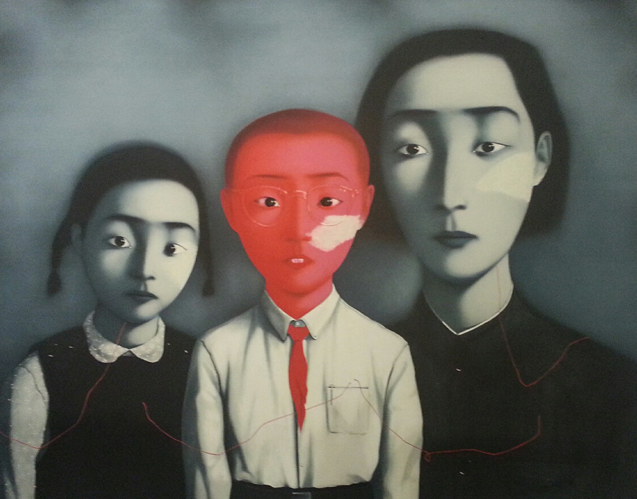 zhang xiaogang artist Presenting an extremely rare rendition by highly sought-after contemporary chinese artist zhang xiaogang, bloodline: big family no 9 offers a master work from his.