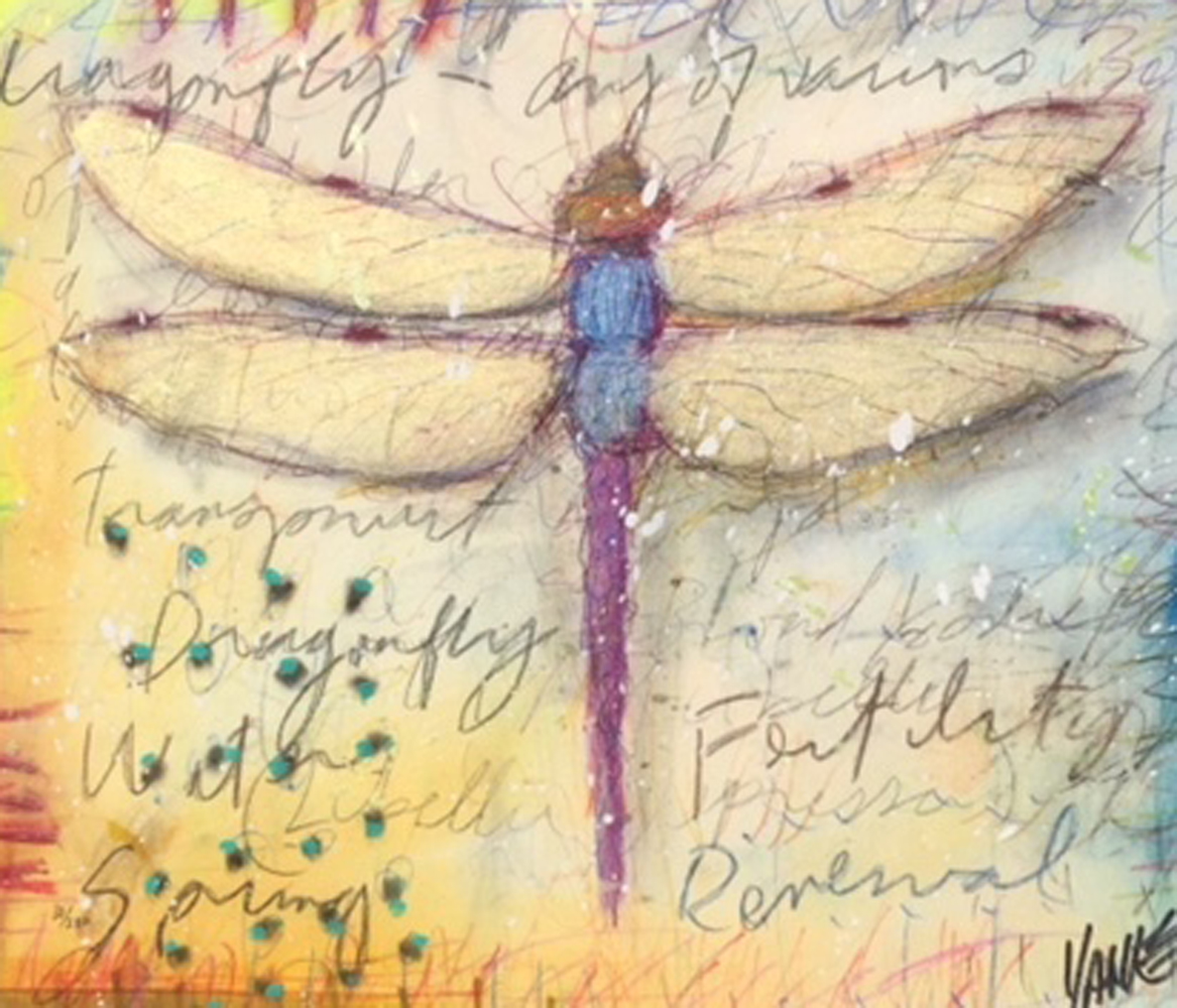 Dragonfly II 2011 Embellished