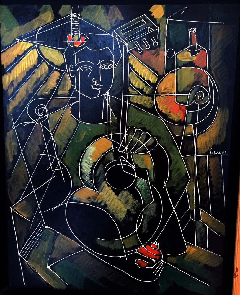 Boy With Guitar 2007 26x22