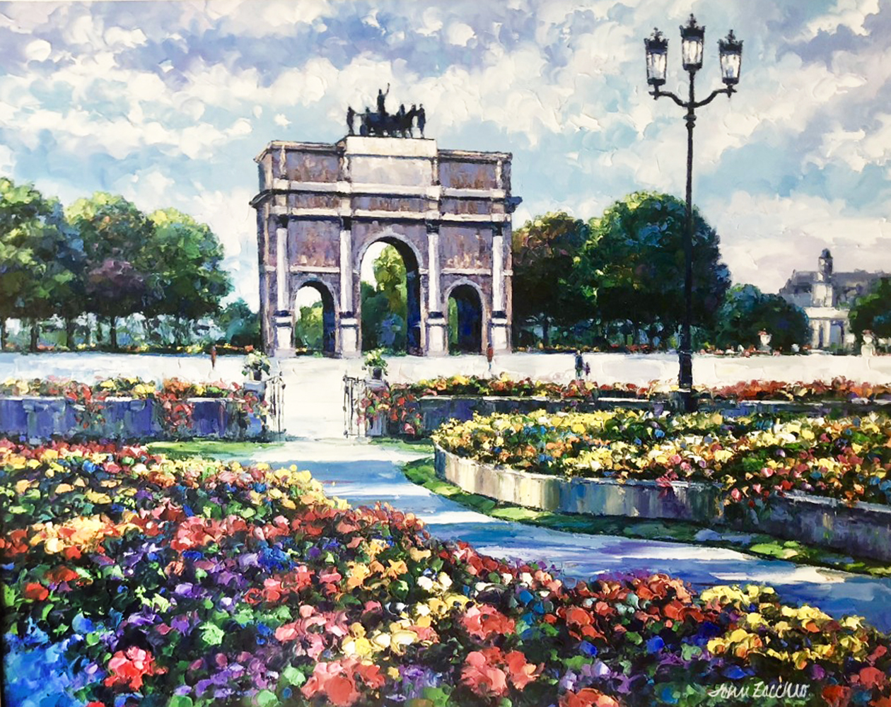 Garden of Tuileries 1980 48x38