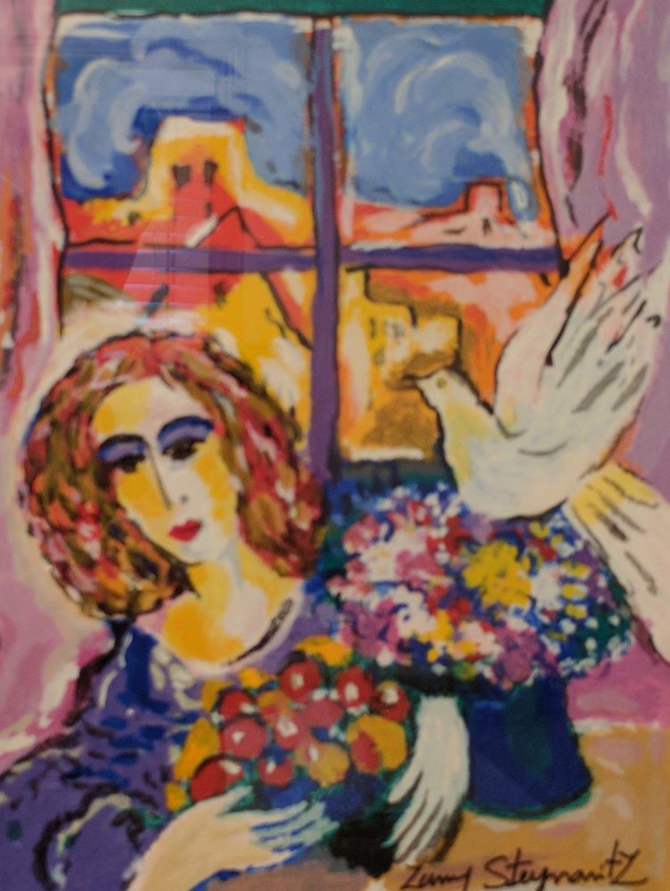Woman At the Window 1996