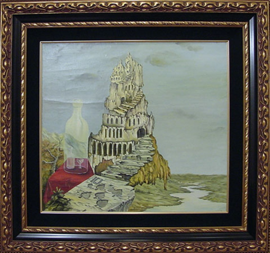 Untitled - Tower Painting