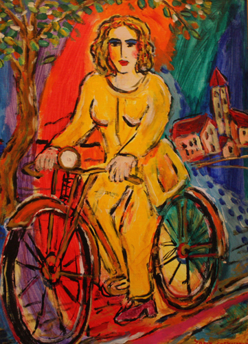 A Ride Into the Country 2000 29x24