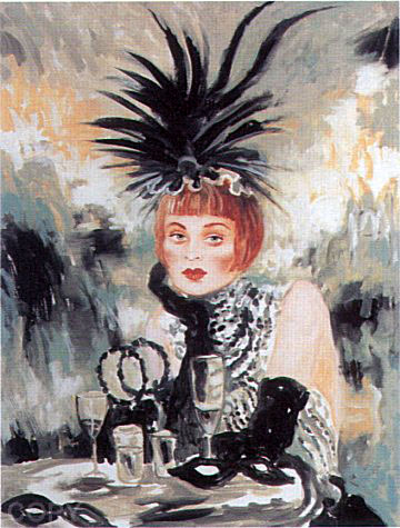 Lola from The Moulin Rouge Suite 1998