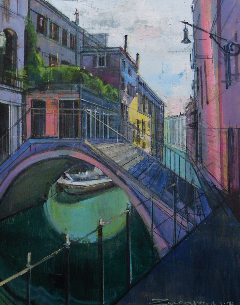 Summer Colors in Venice 30x24