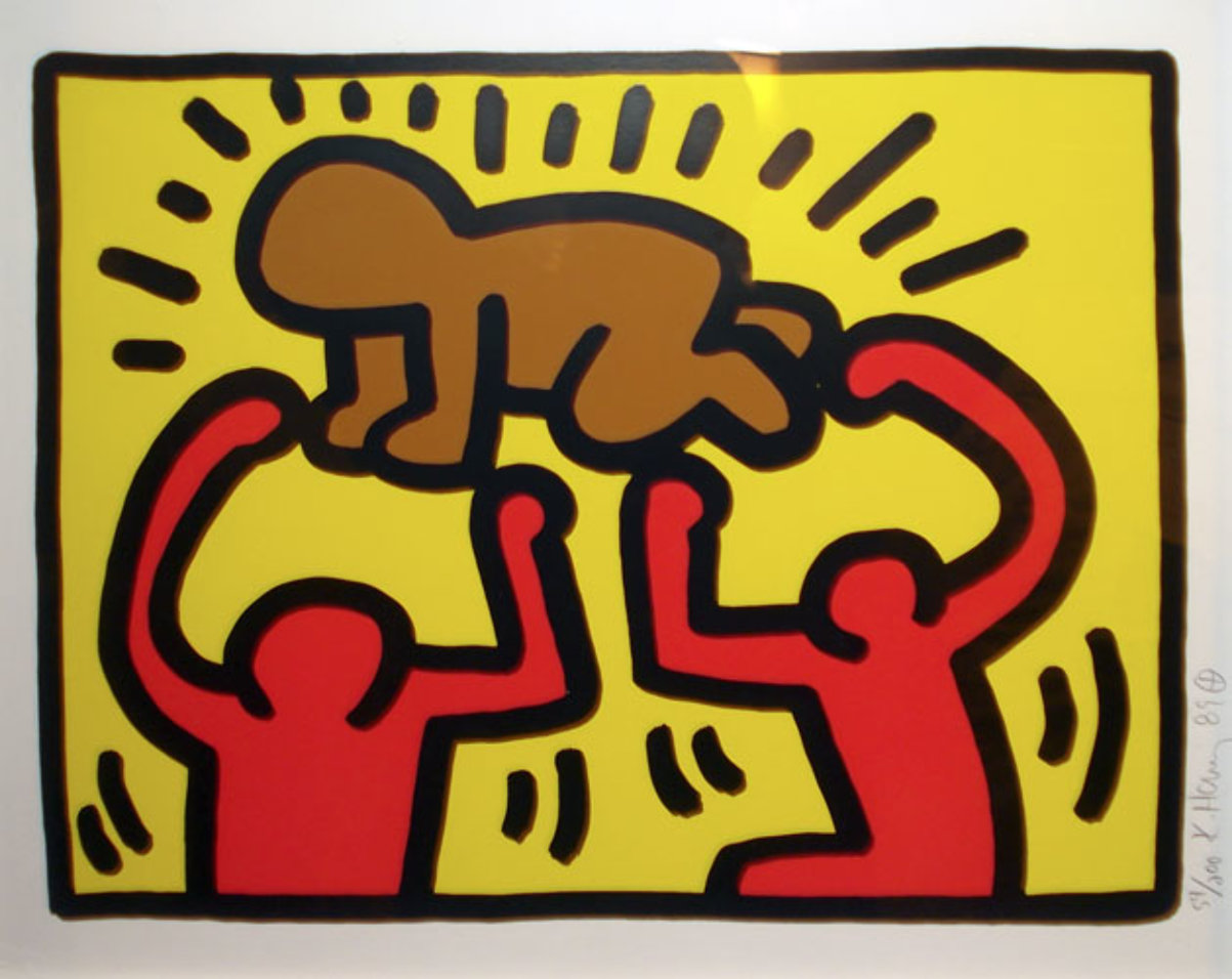 Keith Haring Art Baby Www Imgkid Com The Image Kid Has It