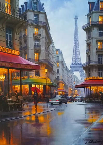 City Of Love Embellished 2015 By Alexei Butirskiy