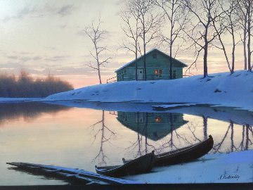 Peaceful Sunset  2000 Limited Edition Print - Alexei  Butirskiy