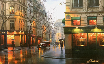 Galerie Royale Thomas Embellished Limited Edition Print - Alexei  Butirskiy