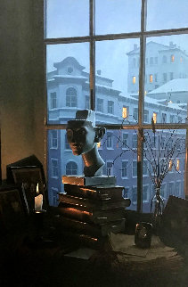 Room With a View Embellished Limited Edition Print - Alexei  Butirskiy