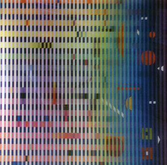 Marlin 2007 Limited Edition Print - Yaacov Agam