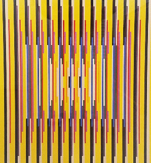 Untitled Serigraph Limited Edition Print - Yaacov Agam