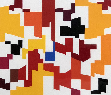 Woman Limited Edition Print - Yaacov Agam