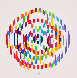 Message De Paix 1980 Limited Edition Print by Yaacov Agam - 8