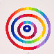 Message De Paix 1980 Limited Edition Print by Yaacov Agam - 3