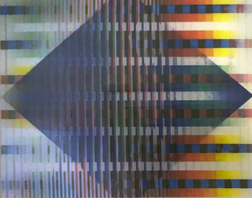 Abstract AP 2012 Agamograph  Sculpture - Yaacov Agam