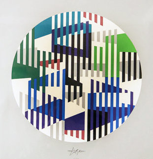 Jazz Series 1993 Limited Edition Print - Yaacov Agam