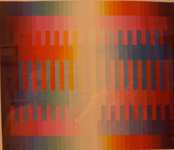 Magic Rainbow, Set of 3 1979 Limited Edition Print - Yaacov Agam