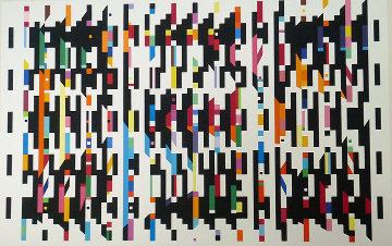 Untitled B 1976 Limited Edition Print - Yaacov Agam