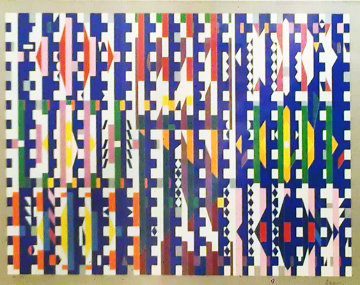 Magic Time 1980 Limited Edition Print by Yaacov Agam