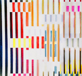 Expanded Spaces Agamograph 1995 Sculpture - Yaacov Agam