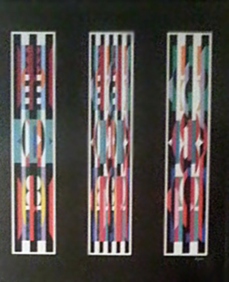 Three in One, Suite of 3 1987: Serigraphs