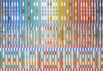 Blessing Limited Edition Print - Yaacov Agam