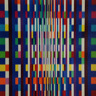 Big Bang 2007 Limited Edition Print - Yaacov Agam