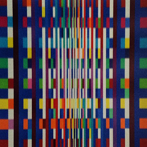 Big bang 2007 by yaacov agam for Best way to sell your art online