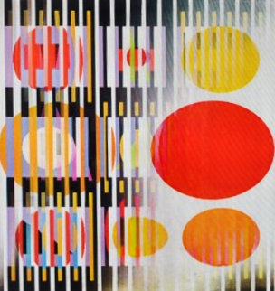 Midnight Light Agamograph 1991 Sculpture - Yaacov Agam