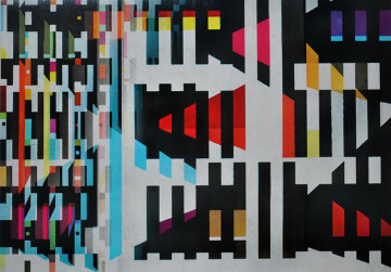 Untitled Agamograph 1973 Sculpture by Yaacov Agam