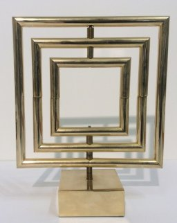 Space Divider Brass Sculpture 1980 Sculpture - Yaacov Agam