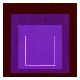 White Line Squares XI: Series II 1966 Limited Edition Print - Josef Albers