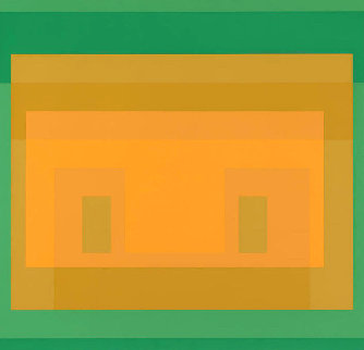 Six Variants: I-s Va 6 1969 Limited Edition Print - Josef Albers