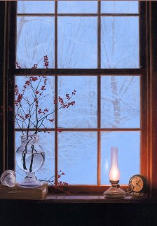Winter Window AP 2003 Limited Edition Print - Alexander Volkov