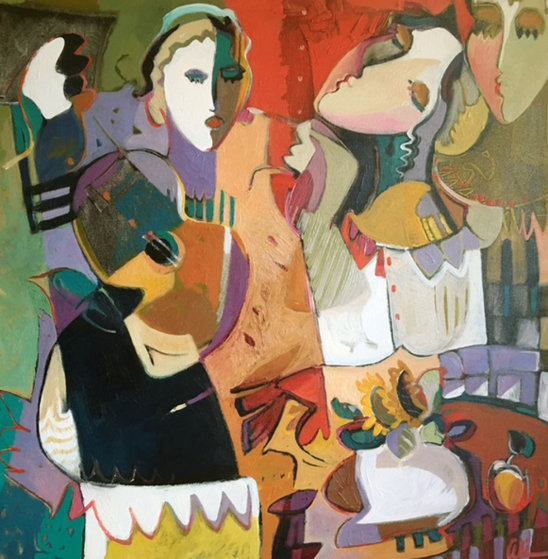Untitled Painting 2000 46x46