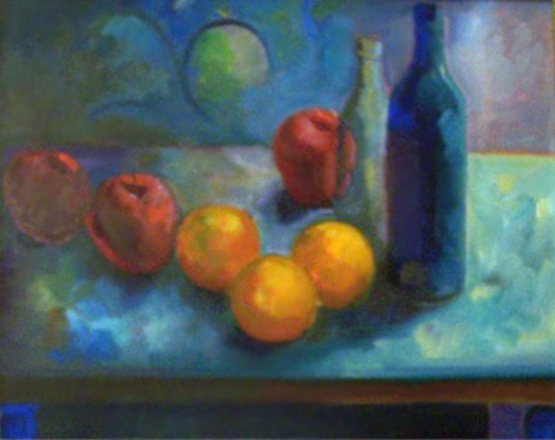 Still Life with Fruit 1988 23x27