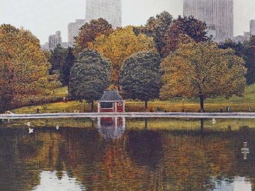 Reflections AP 1986  Limited Edition Print - Harold Altman